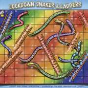 Free Snakes & Ladders Game related to Lockdown and Covid-19